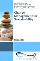 Change Management for Sustainability