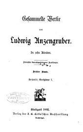 Gesammelte Werke: Bände 3-4