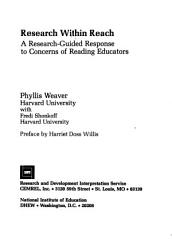 Research Within Reach Book PDF