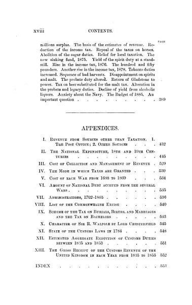 A History of Taxation and Taxes in England from the Earliest Times to the Year 1885 PDF