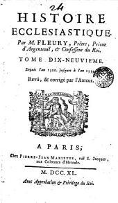 Hístore Éclésiastique, 19