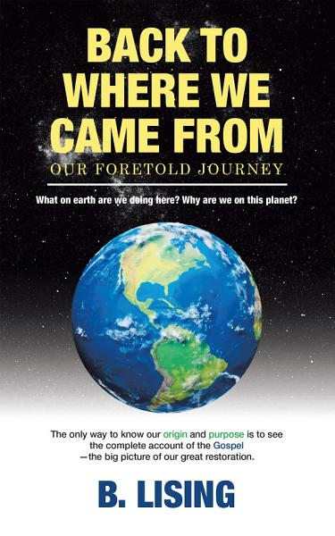 Download Back to Where We Came From Book