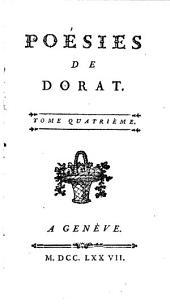 Poésies de Dorat: Volume4