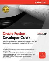 Oracle Fusion Developer Guide PDF