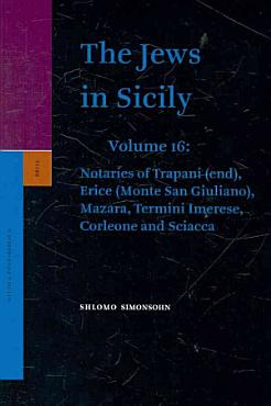 The Jews in Sicily PDF