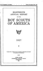 Annual Report of the Boy Scouts of America PDF