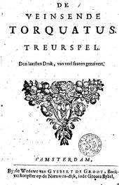De veinsende Torquatus: treurspel