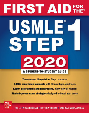 First Aid for the USMLE Step 1 2020  Thirtieth edition