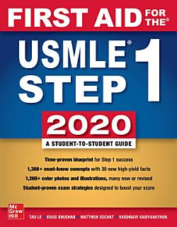 First Aid for the USMLE Step 1 2020  Thirtieth edition Book