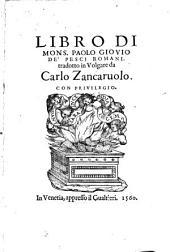 Libro ... de' pesci romani