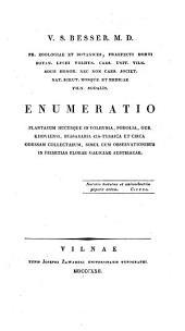 Enumeratio plantarum hucusque in Volhynia (etc.)