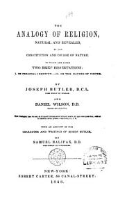 The Works of ... Joseph Butler ... to which is Prefixed: Sermons. Correspondence between Dr. Butler and Dr. Clarke