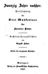 Zwanzig Jahre nachher: Fortsetzung der Drei Musketiere, Bände 11-14