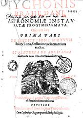 Astronomiae instauratae progymnasmata