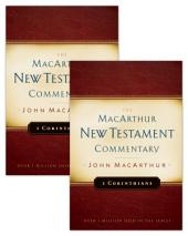 1 & 2 Corinthians MacArthur New Testament Commentary Set
