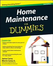 Home Maintenance For Dummies: Edition 2