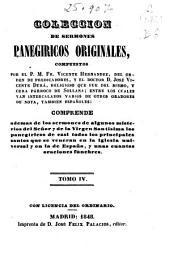 Colección de sermones panegíricos originales: (1848. 338 p. )