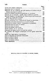 Œuvres complètes de Blaise Pascal: Volume3