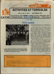 Activities At Turrialba Book PDF