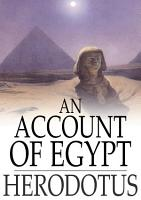An Account of Egypt PDF