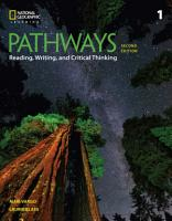 Pathways  Reading  Writing  and Critical Thinking 1 PDF