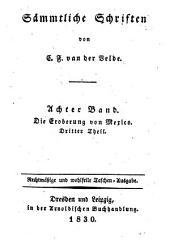 Sämmtliche Schriften von van der Velde, Karl Franz: Band 8