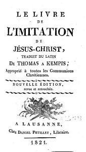 Le livre de l'imitation de Jésus-Christ