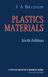 Plastics Materials: Edition 6