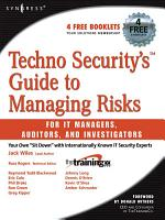 Techno Security s Guide to Managing Risks for IT Managers  Auditors  and Investigators PDF