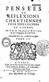 Pensées ou réflexions chrétiennes pour tous les jours de l'année, par le P. François Nepveu
