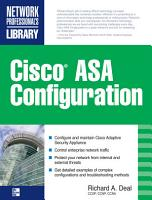 Cisco ASA Configuration PDF