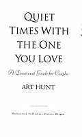 Quiet Times with the One You Love PDF