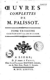 Oeuvres complètes de M. Palissot