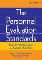 The Personnel Evaluation Standards PDF