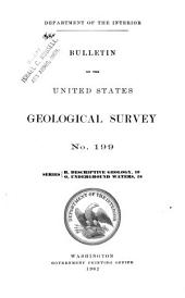 Geology and Water Resources of the Snake River Plains of Idaho: Issues 194-203