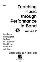 Teaching Music Through Performance In Band Book PDF
