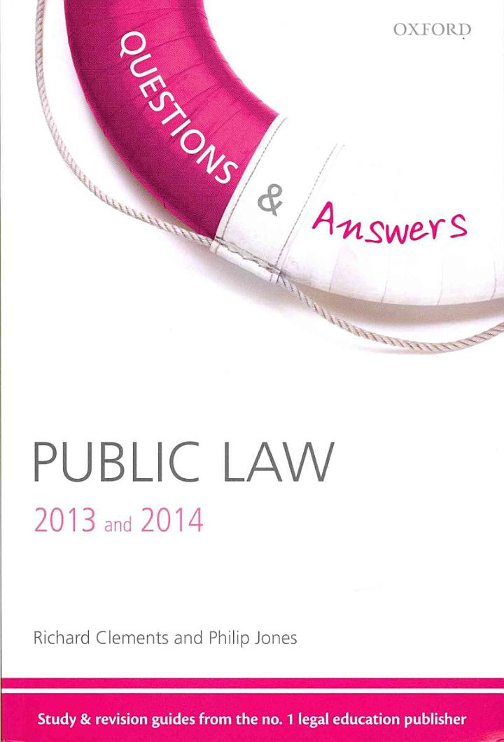 Q & A Revision Guide Public Law 2013 and 2014