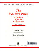 The Writer s Work PDF