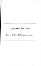 Checklist of Public Documents Containing Debates and Proceedings of Congress from the First to the Fifty-third Congress: Together with Miscellaneous Lists of Documents, and Historical and Bibliographical Notes