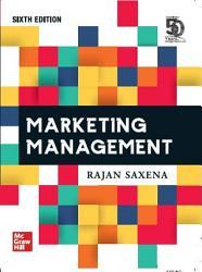 Marketing Management  6th Edition PDF