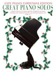 Great Piano Solos: The Christmas Book (Easy Piano Edition)