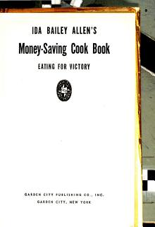 Ida Bailey Allen s Money saving Cook Book PDF