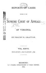 Cases Decided in the Supreme Court of Appeals of Virginia PDF