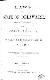 Laws of the State of Delaware: Volume 14
