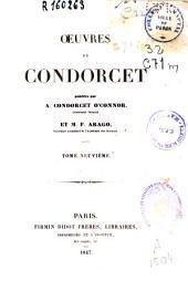 Oeuvres de Condorcet: Volume9
