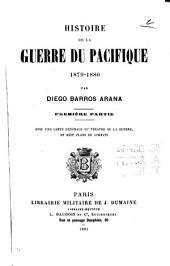 Histoire de la guerre du Pacifique: Volumes1à2