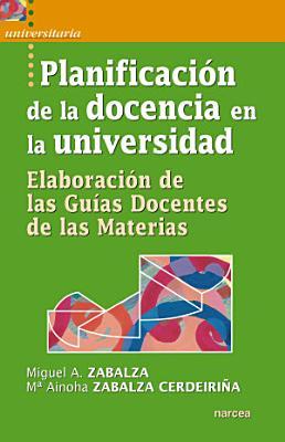 Planificaci  n de la docencia en la universidad PDF