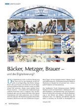 Bäcker, Metzger, Brauer – Und die Digitalisierung?: ECHT Oberfranken - Ausgabe 43