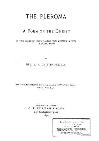 The Pleroma PDF