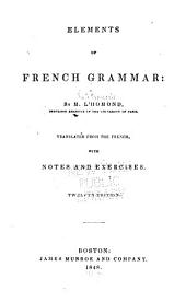 Elements of French Grammar